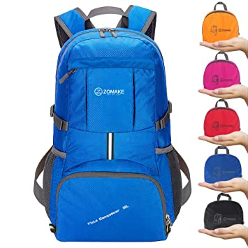 7ca9503287 ZOMAKE Ultra Lightweight Hiking Backpack