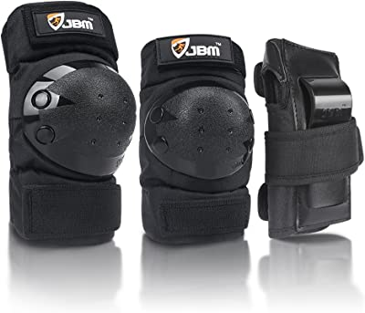 JBM Adult / Child Knee Pads Elbow Pads Wrist Guards 3 In 1 Protective Gear Set