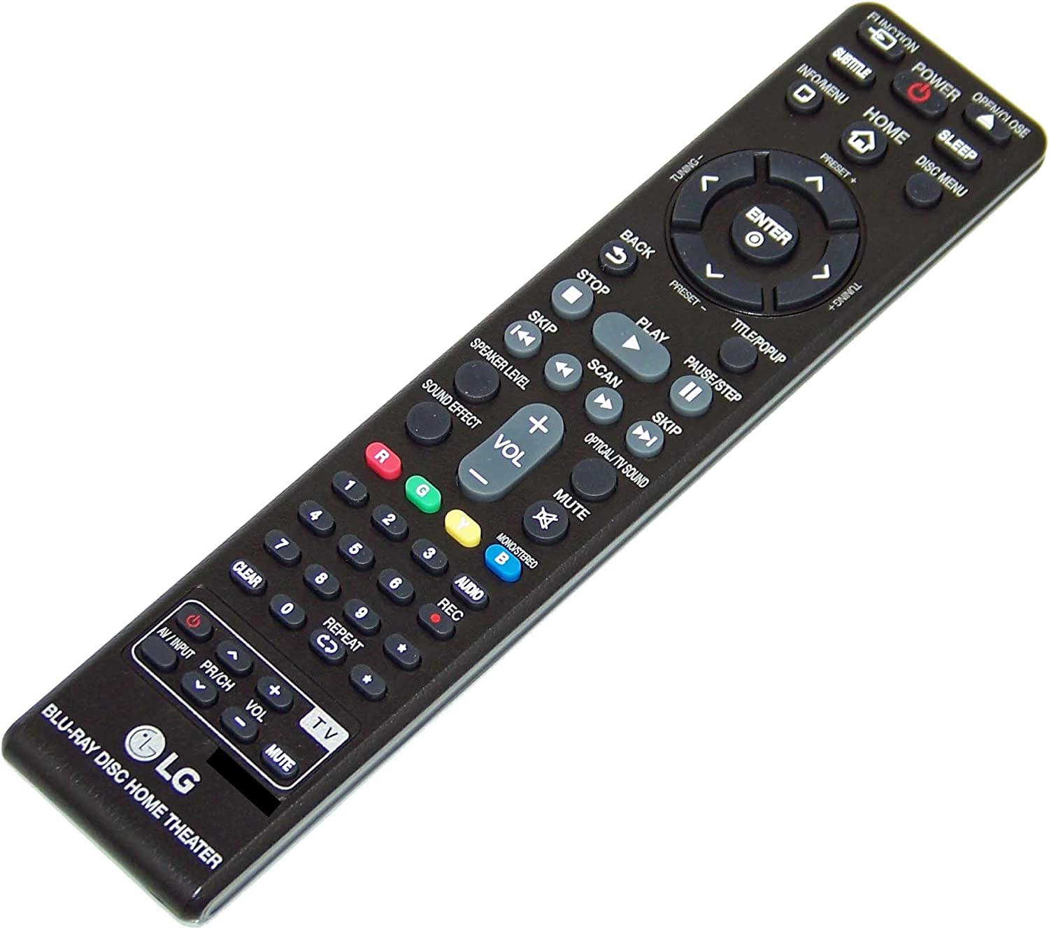 OEM LG Remote Control Originally Shipped with: BH5140, BH5140S