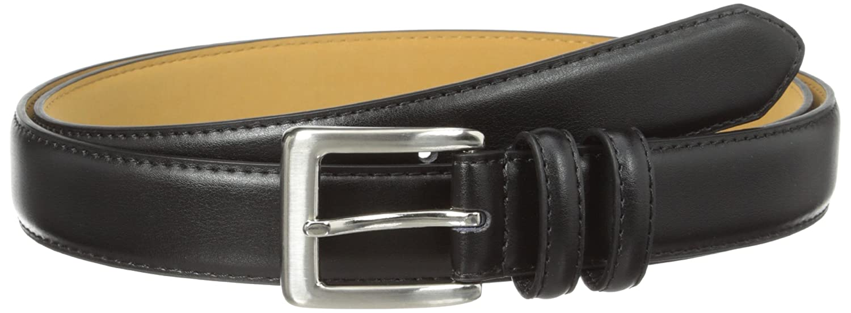 Status Mens Big Top Grain Italian Leather Belt