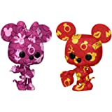 POP Artist Series: Disney Treasures from The Vault - Mickey and Minnie Mouse (2 Pack), Amazon Exclusive, Multicolor (55669)