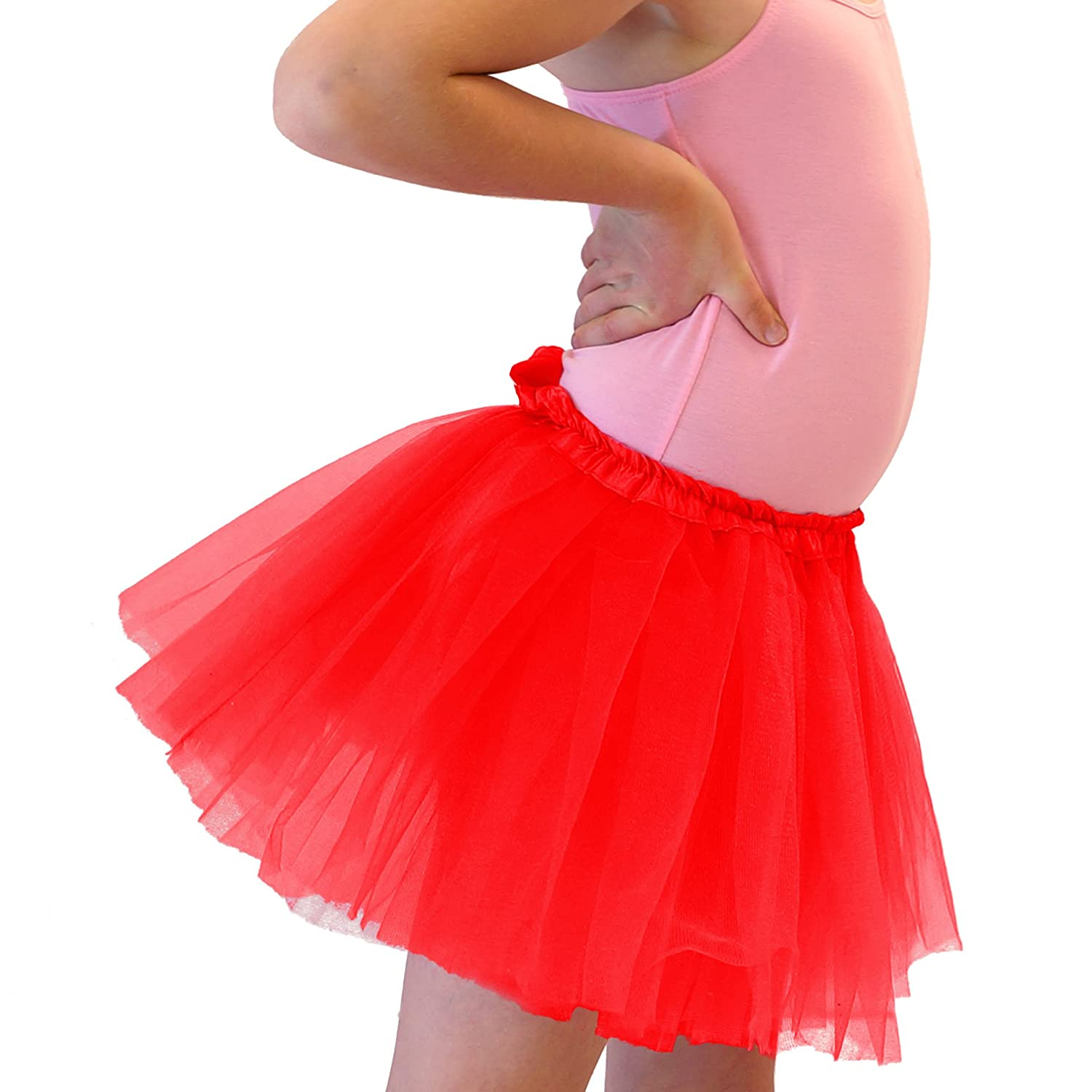 a0de9b92c4 Hairbows Unlimited Girls Dance Tutu Skirt for Dress Up & Fairy Costumes  16767