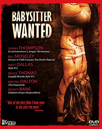 Amazoncom Babysitter Wanted Sarah Thompson Matt Dallas Bruce