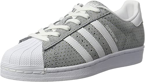 adidas Superstar W, Sneakers Basses Femme, Gris (Clonix ...