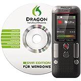 Philips Voice Tracer DVT2700/00 Digital Voice Recorder, Black