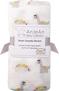 Win A Free AnJeAn Baby Collection Muslin 100% Bamboo Swaddle Blanket...