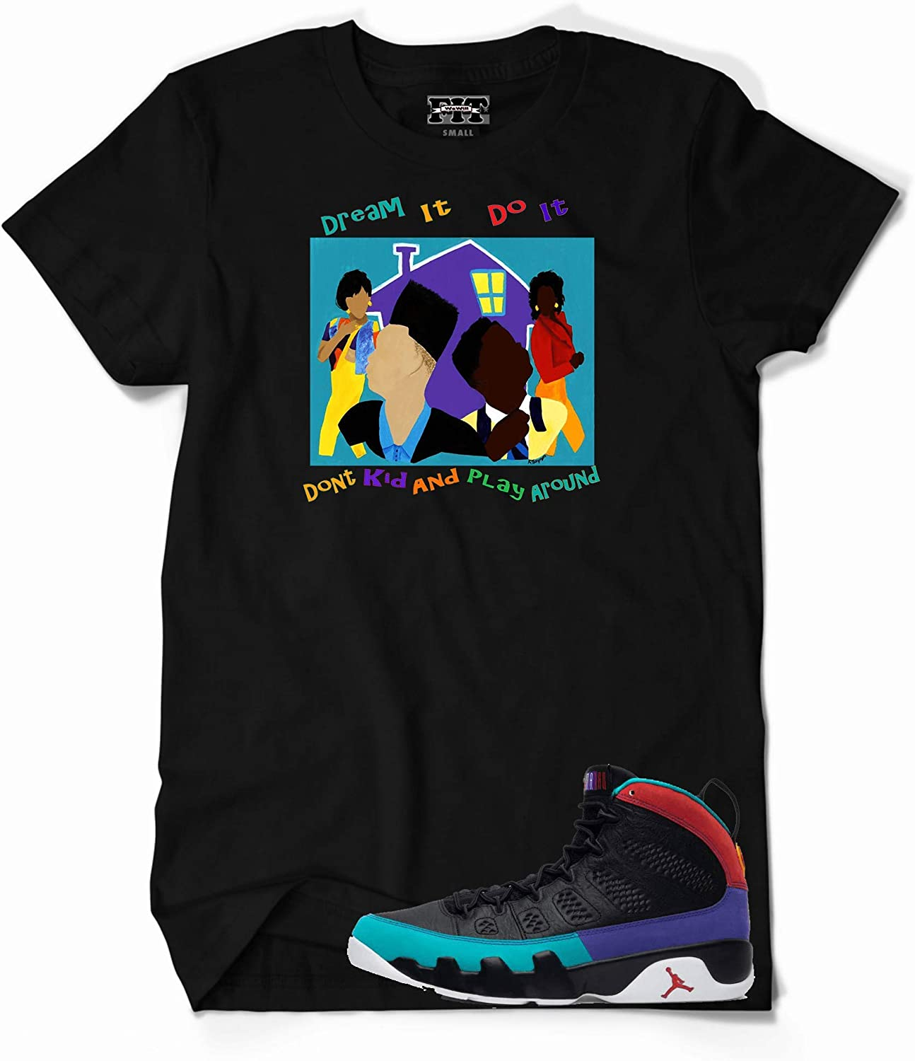 We Will Fit House Party Shirt for The Jordan 9 IX Dream it Do It Flight Nostalgia