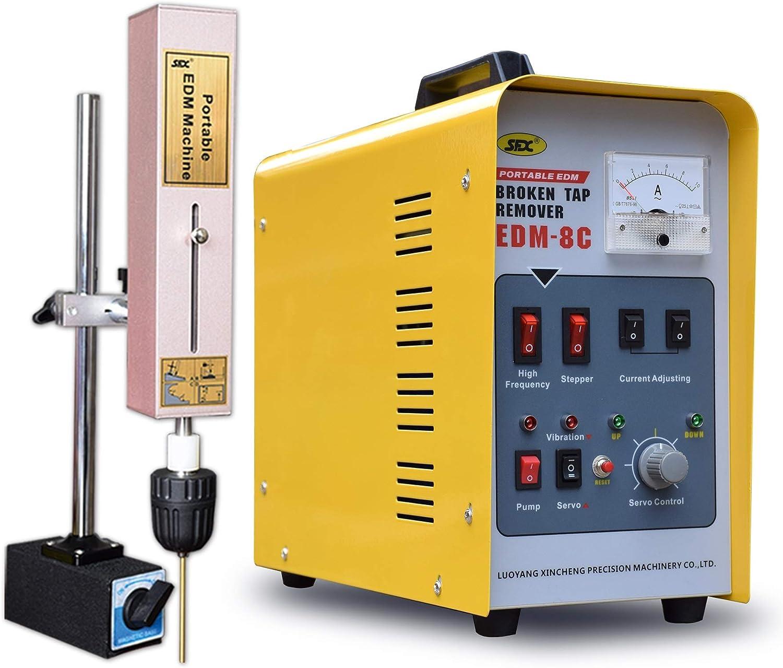 extractor del grifo de la Máquina de ataques contra por chispa del dispositivo de eliminación Roto maneta del EDM Portátil 800.00W, 220.00V