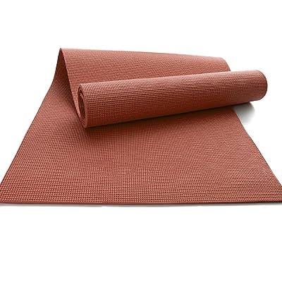 Tapis de yoga / Slip plus épais tapis de fitness / tapis d'exercice en plein air / tapis de danse intérieure / 173 * 61cm ( Couleur : Marron )