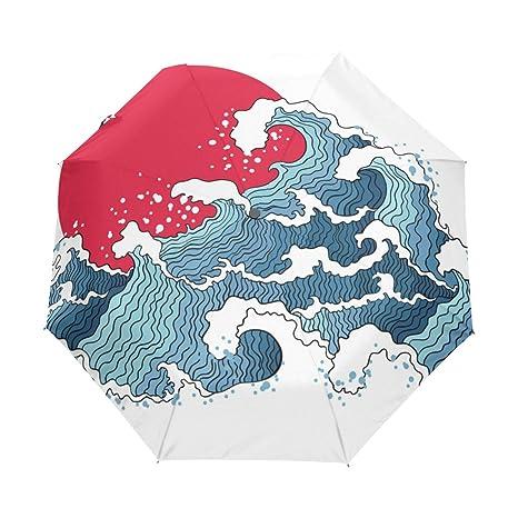 762af6898004 Amazon.com : senya Saobao Windproof and Rainproof Travel Umbrella ...