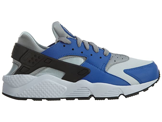 new concept 66e7c 62d37 Amazon.com   Nike Air Huarache Comet Blue Metallic Silver   Fashion Sneakers