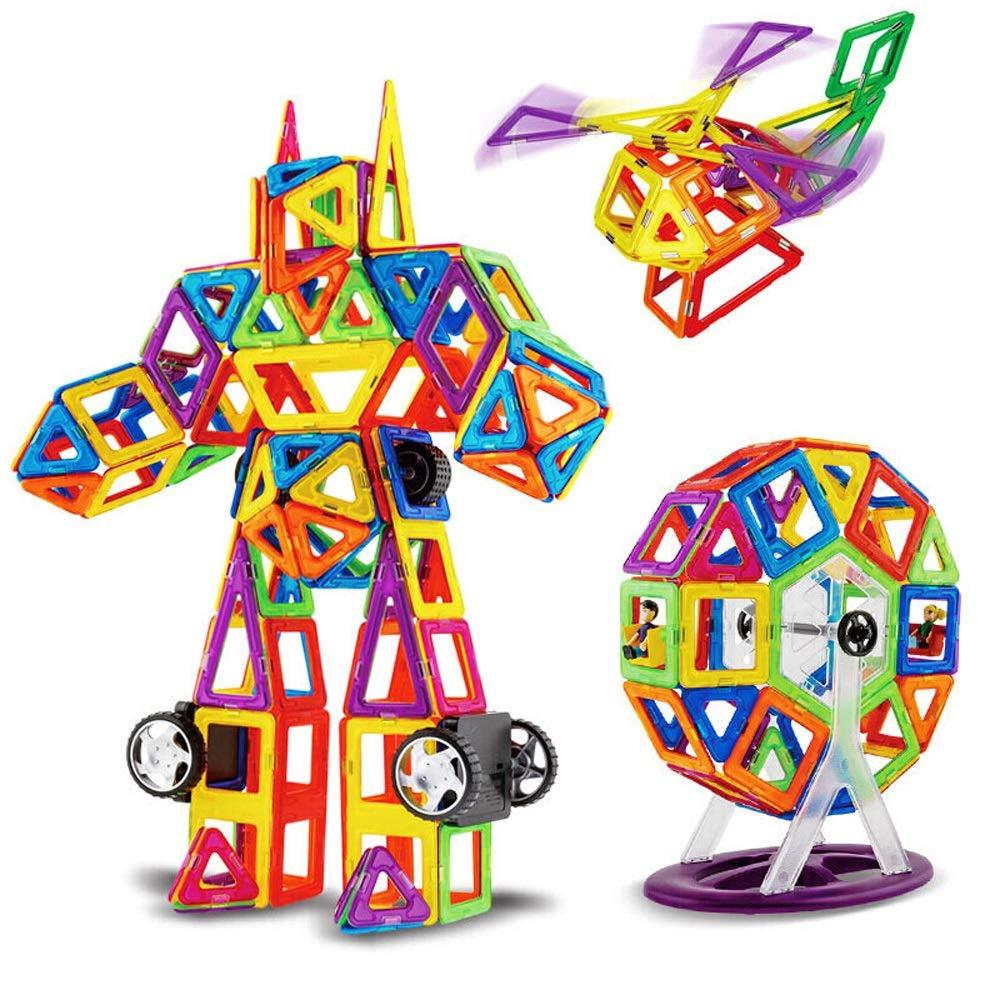 están haciendo actividades de descuento LEEDOO Juguete educativo para niños Pieza magnética Juguete Juguete Juguete Bloques de construcción Imanes Volumen magnético Inserciones de madera 58 Conjuntos (36 Piezas magnéticas +6 Accesorios +16 Tarjetas) Regalo  directo de fábrica