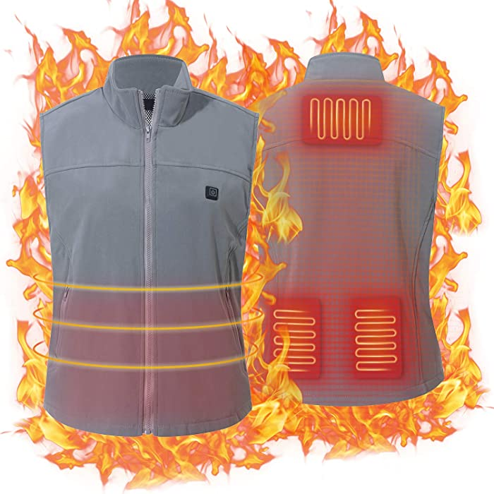 Top 8 Electric Clothing Charging Heating Vest Clothing For Winter