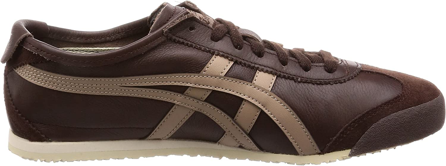 ASICS Mexico 66, Chaussures de Running Mixte Adulte Multicolore Coffee Taupe Grey 201