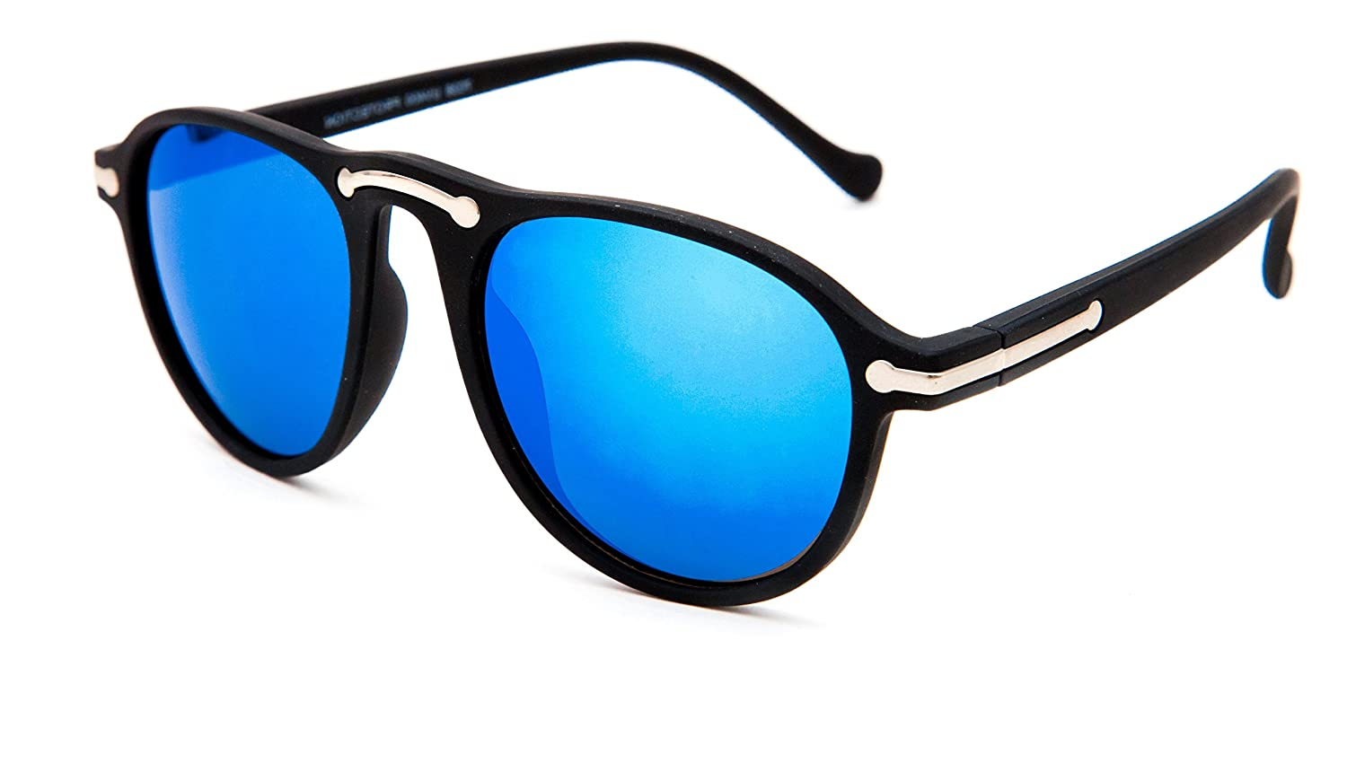 1cd0a7805c225 TheWhoop UV Protected Stylish Blue Goggles Mirror Aviator Sunglasses For  Men