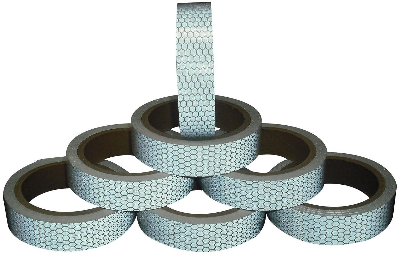 Hoch Intensives weiß Reflektierendes Klebeband 25mm x 2.5m Direct Products
