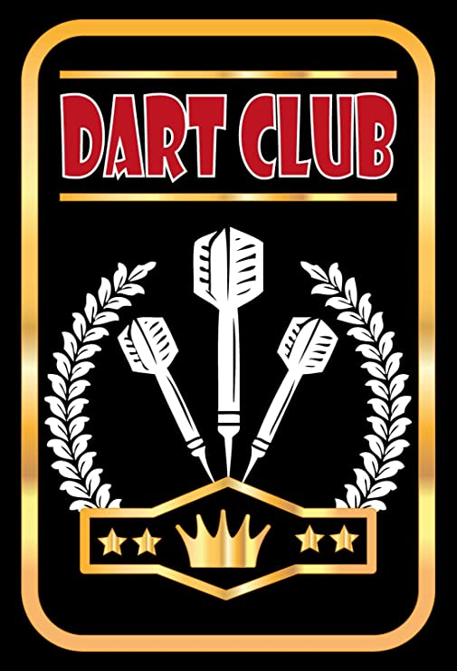 Cartel de Chapa genérica 20 x 30 cm Dart Club Metal Cartel ...