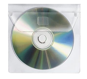 Berühmt Veloflex 2259000 CD-Hüllen CD-Boxen CD-Etui zum Einkleben für 1 CD RA65