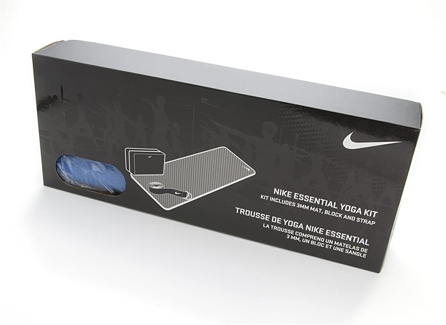 Amazon.com : Nike Essential Yoga Kit - Mega Blue/Sail : Yoga Mats : Sports  & Outdoors