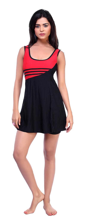 c5b005cbf21b9 Carrel Womens Lycra Fabric Solid Swimsuit(AGSPL-3077-SW-13)