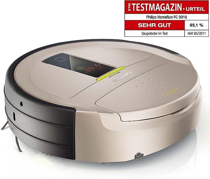 Philips FC9910 HomeRun Robot aspirador, 3 MB/s, 0.6 L, Gris, Plata ...