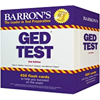 Barron's GED Test Flash Cards, 2nd Edition: 450 Flash Cards to Help You Achieve a Higher Score (Barron's Test Prep)