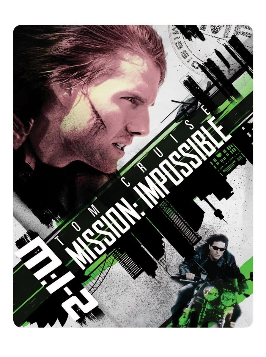 Mission Impossible 2 Steelbook 4k Uhd + Bluray Uk Limited ...