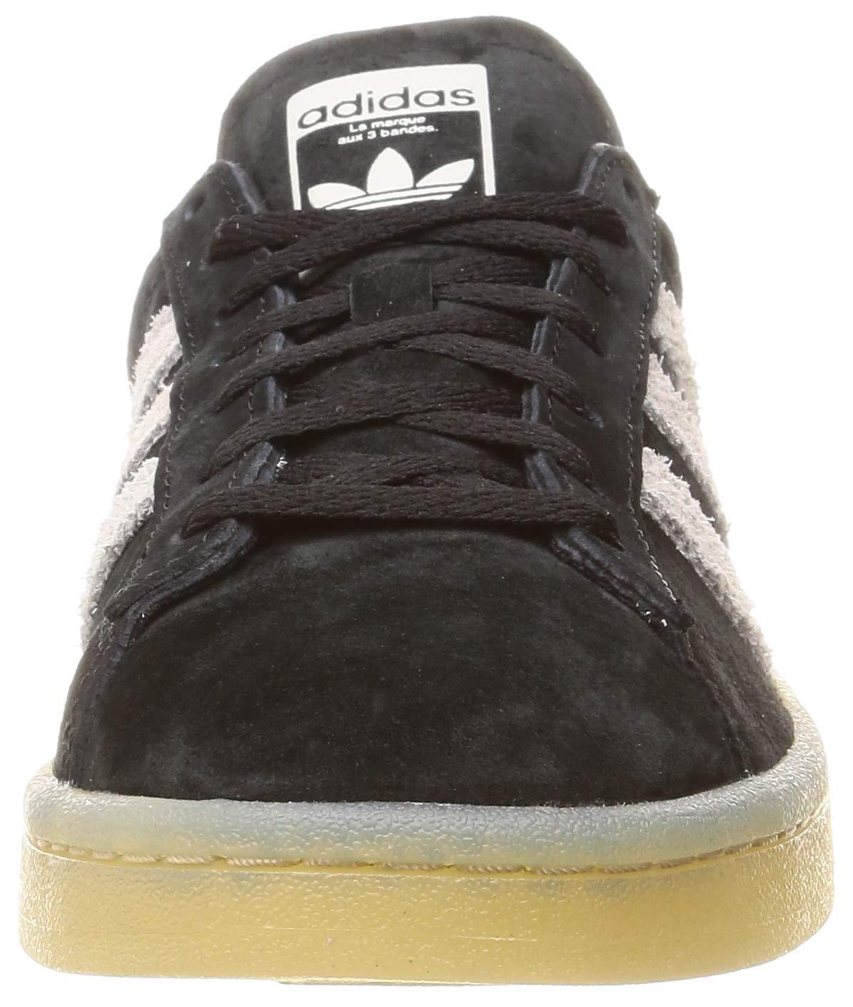 Adidas Originals Campus Sneaker Damen schwarz/Hellgrau, 4 - UK - 4 36 2/3 EU - 5.5 US  - afb3c7