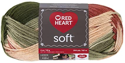 RED HEART Soft Yarn, Garden