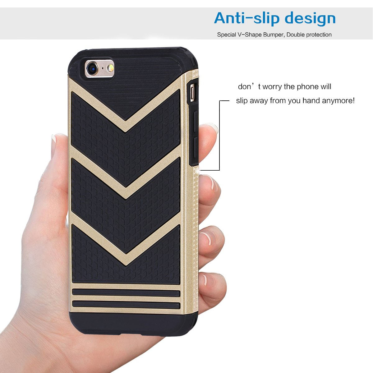 iphone 6 cover case antislippery