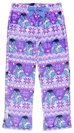 ba152a2922 Disney Blue Eeyore Women s License Pajama Super Minky Plush Fleece Sleep  Pant (XXX-Large