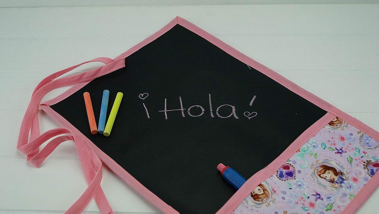 Pizarra portátil enrollable de tela Sofia: Amazon.es: Handmade