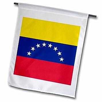 3drose Fl 159824 51 Cm Drapeau Du Venezuela Jaune Bleu