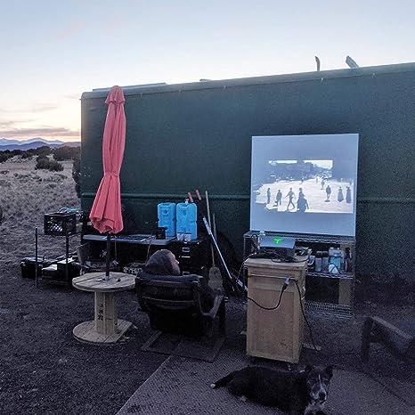 Proyector, VIVIBRIGHT f40 Proyector Nativo Full HD 1080P, 4200Lux Pantalla de 300