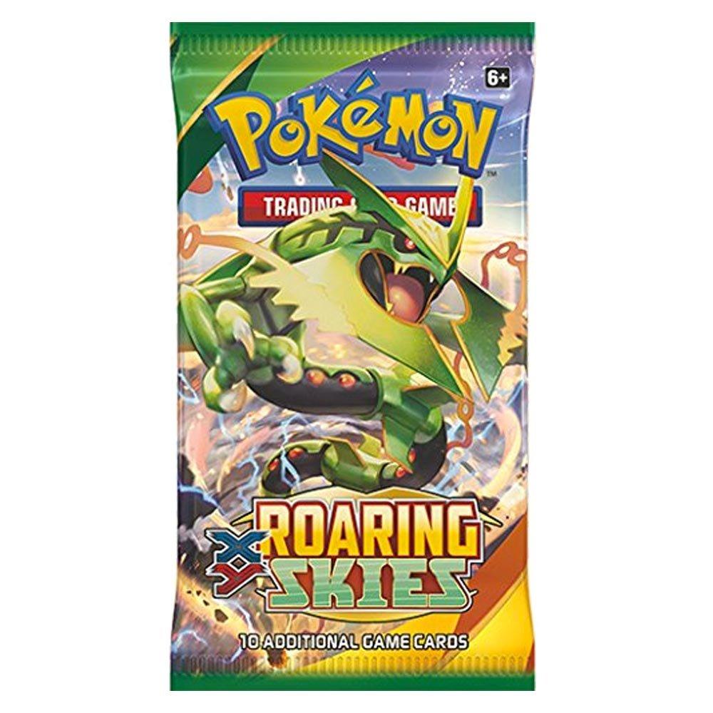 Xy 6 Roasacue Skies 1 pack (10 voiturouges) Pokemon XY9  Break Point  Boite De 36 Boosters = 360 voituretes pour Pokemon TCG (Anglais)