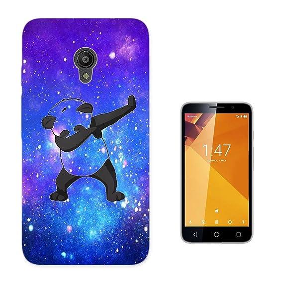 003335 - Panda DAB Dance Move Rap Design Vodafone Smart Turbo 7 Fashion Trend CASE Gel