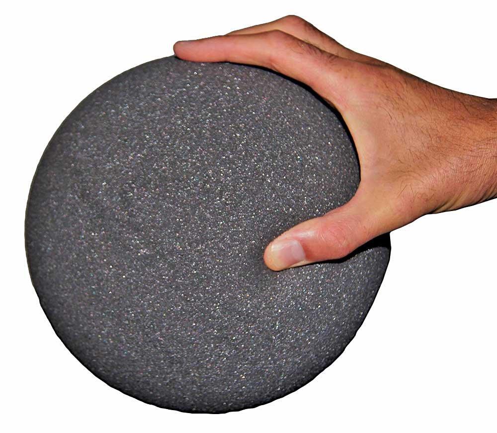 8'' Gray Foam Elephant Ball by Great Lakes Sports