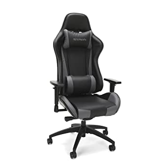 Respawn - Silla de racing 105 estilo gaming, de cuero, ergonómica y reclinable