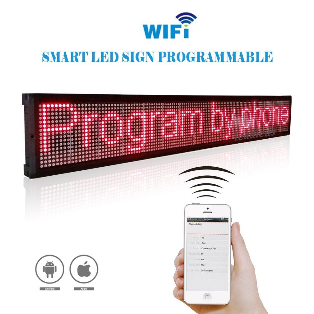wifi led sign