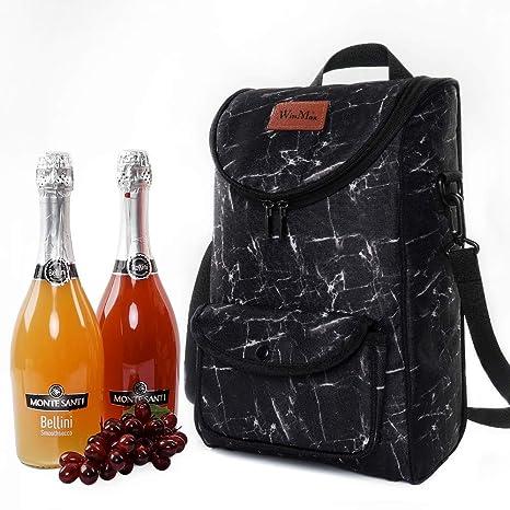 Compra winmax Bolsas de Vino y Botella, Negro, Large en ...