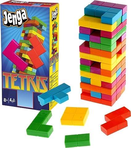 Buy Happy Giftmart 2 In 1 Jenga Tetris Game 1 Players A New Jinga