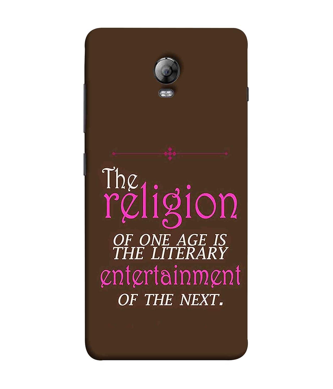 newest collection 7dfad e48ca Printfidaa Lenovo Vibe P1 Back Cover Religion: Amazon.in: Electronics