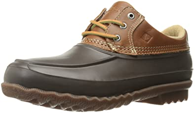 Sperry Top-Sider Men's Decoy Low Rain Boot, Tan, 7.5 M US