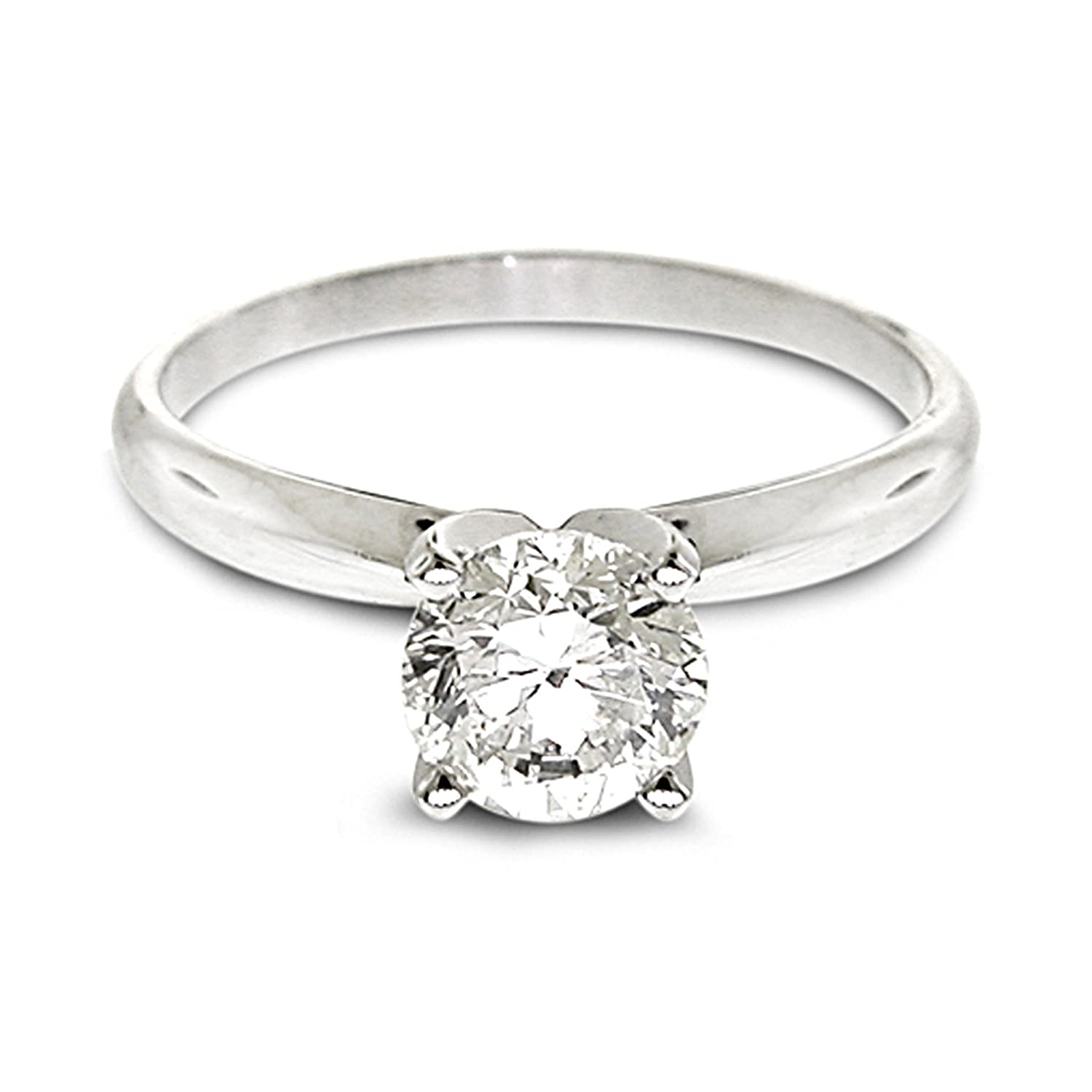 Diamond Studs Forever Solitaire Verlobungsring mit 1 2 ct
