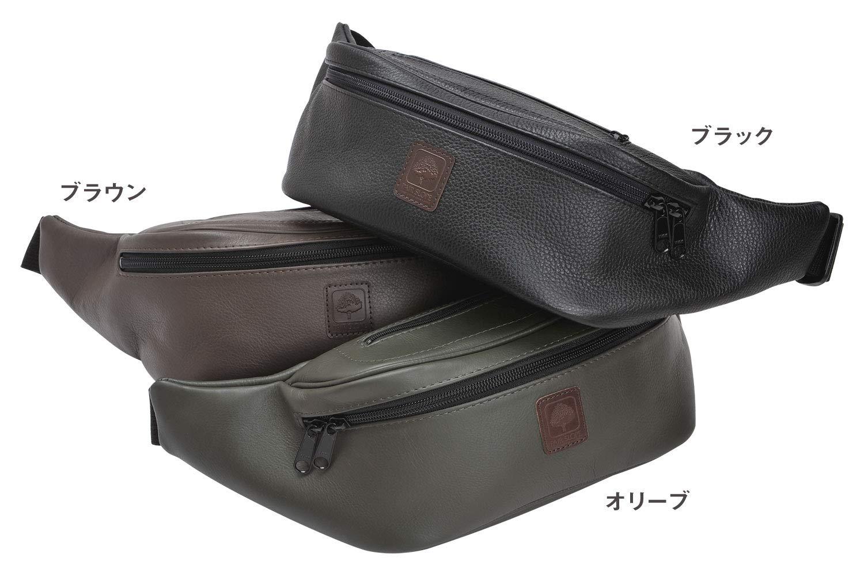 [해외]쌍 경사 (PAIR SLOPE) WB-1 허리 가방 브라운 / Pair SLOPE wb-1 waist bag Brown