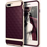 Pummory iPhone 7 Plus & iPhone 8 Plus Textured Grip Drop Protection Slim Protective Case