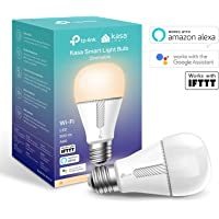 Kasa Smart WiFi Light Bulb by TP-Link, E27/B22, 10W, Works with Amazon Alexa (Echo and Echo Dot), Google Home and IFTTT, Dimmable Soft Warm White, No Hub Required