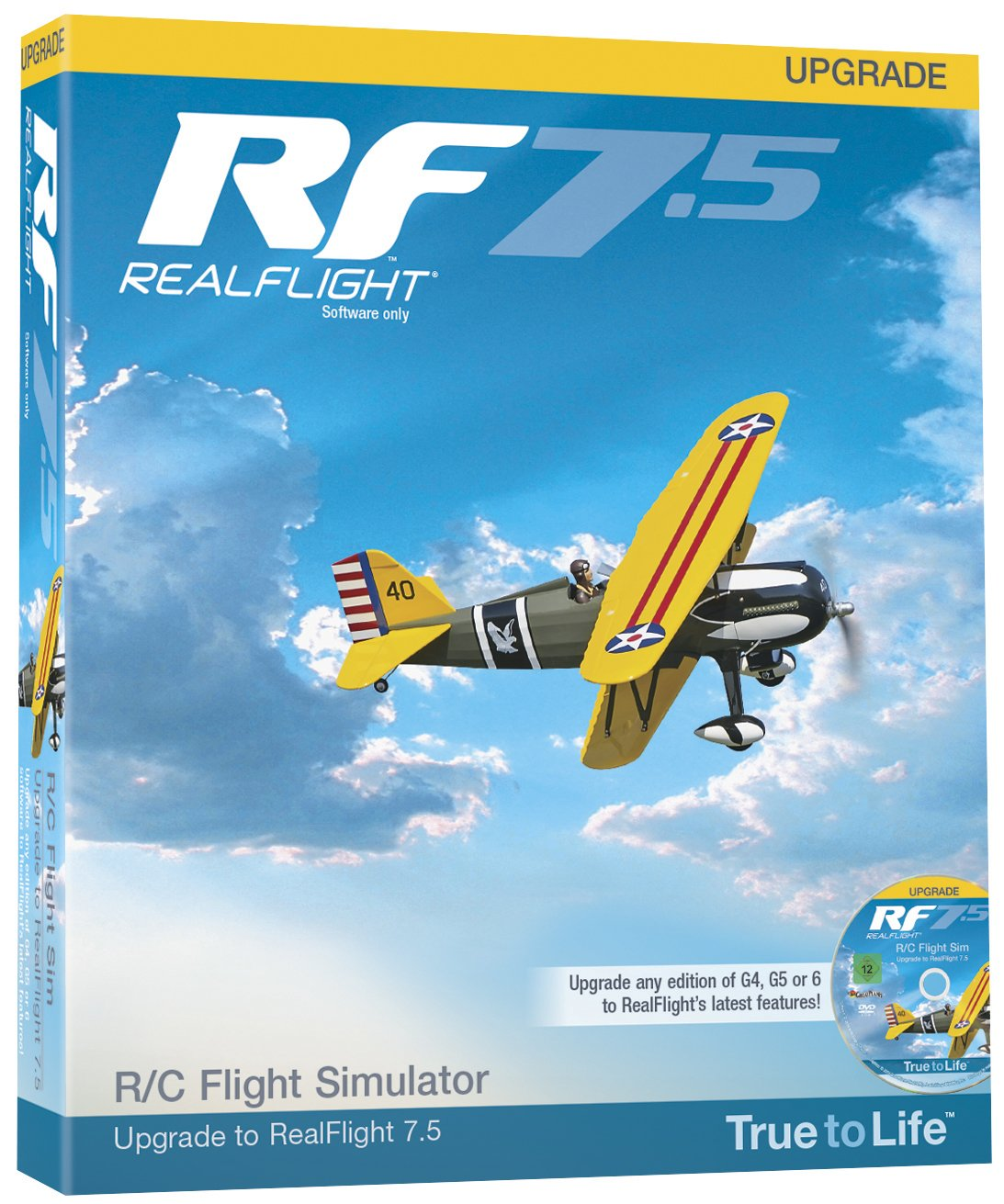 Great Planes RF7 Upgrade for G4 and Above