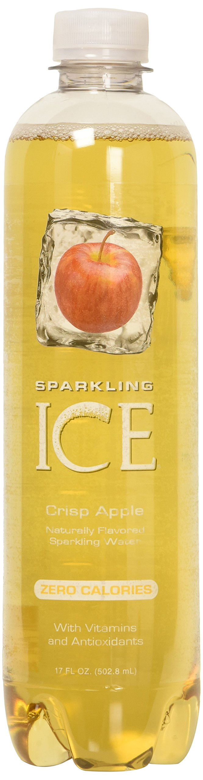 Sparkling Ice Crisp Apple, 17 Fl Oz Bottles (Pack of 12)