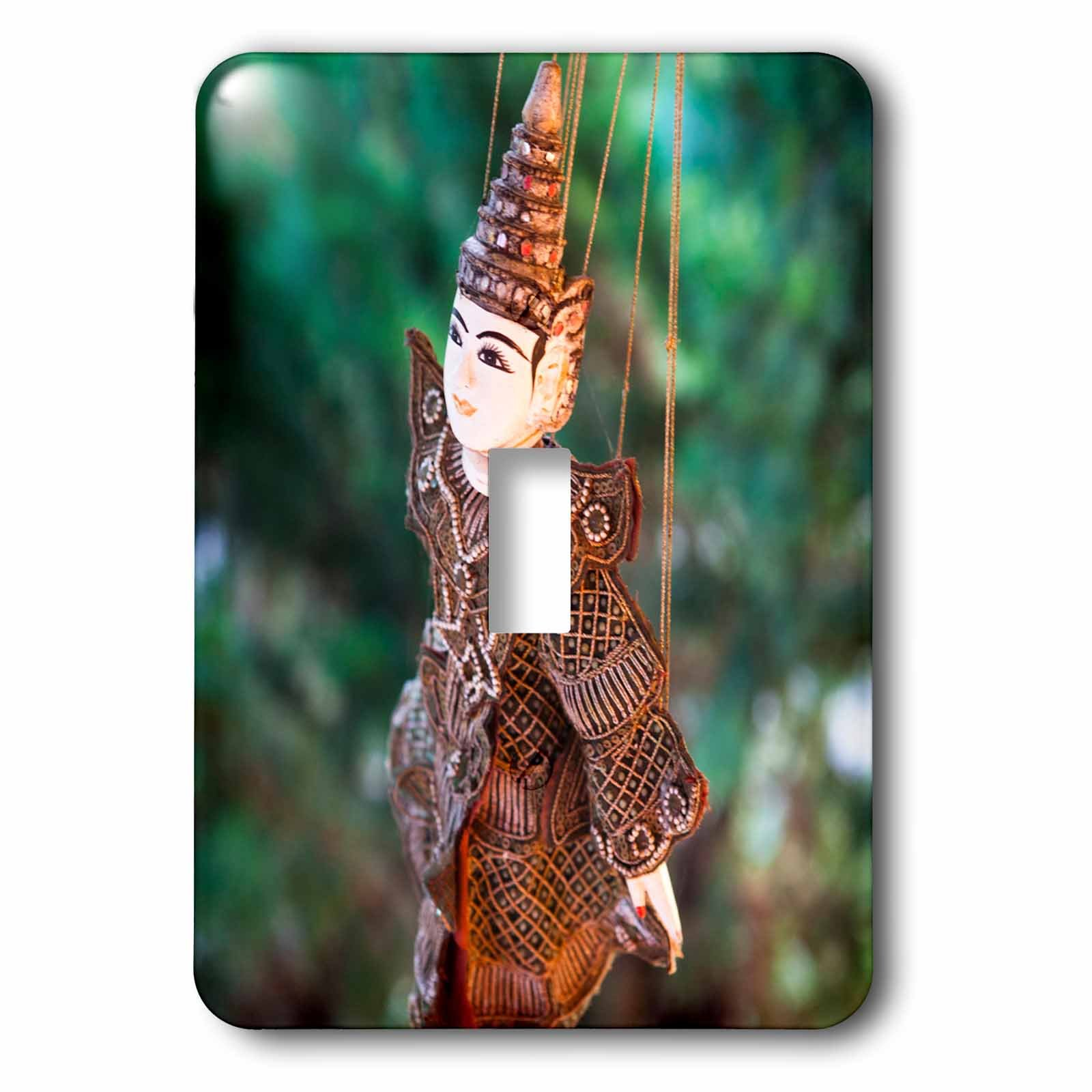 Danita Delimont - Toys - A local Thai puppet - Light Switch Covers - single toggle switch (lsp_226036_1) by 3dRose